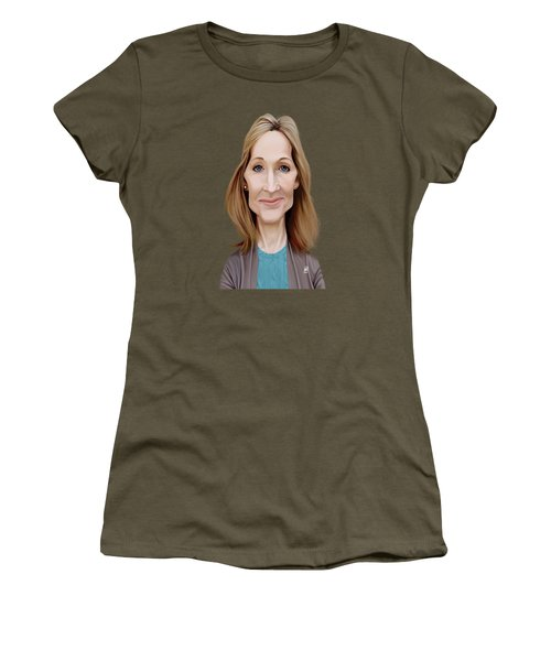 Celebrity Sunday - J.k.rowling Women's T-Shirt (Athletic Fit)
