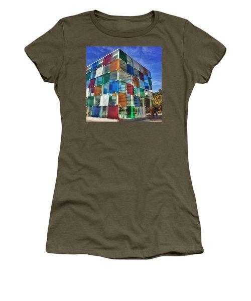 Centre #pompidou #malaga #museo #museum Women's T-Shirt