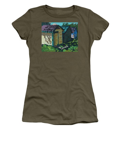 Chaffey Boat Houses Women's T-Shirt (Athletic Fit)