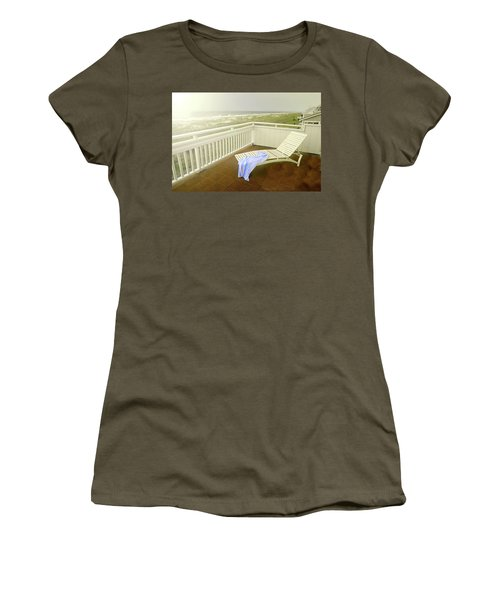 Chaise Lounge Women's T-Shirt (Junior Cut) by Diana Angstadt