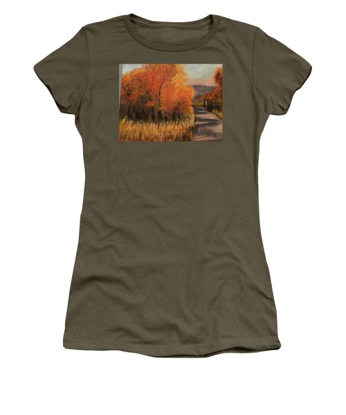 Changing Season Women's T-Shirt (Athletic Fit)
