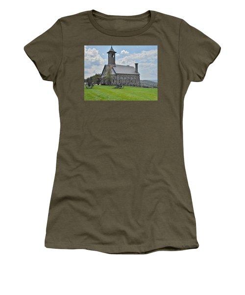 Chapel 2 Women's T-Shirt (Junior Cut) by Julie Grace