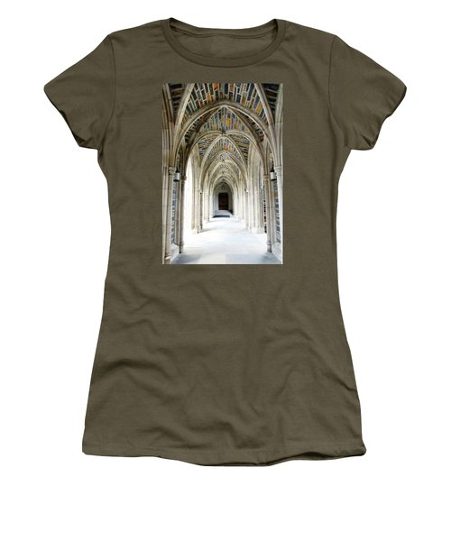 Chapel Archway Women's T-Shirt (Athletic Fit)