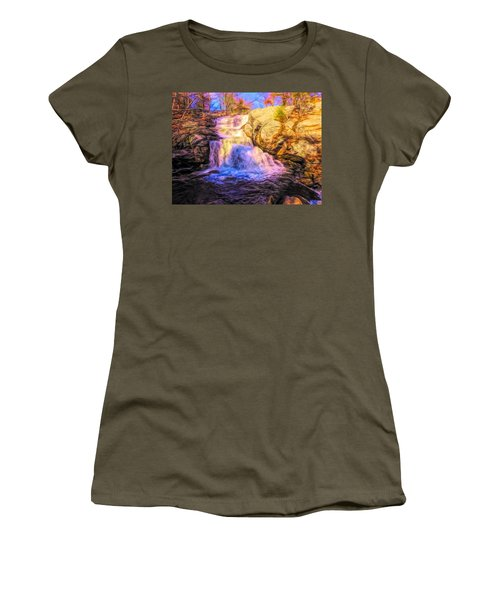 Chapman Falls Connecticut Women's T-Shirt
