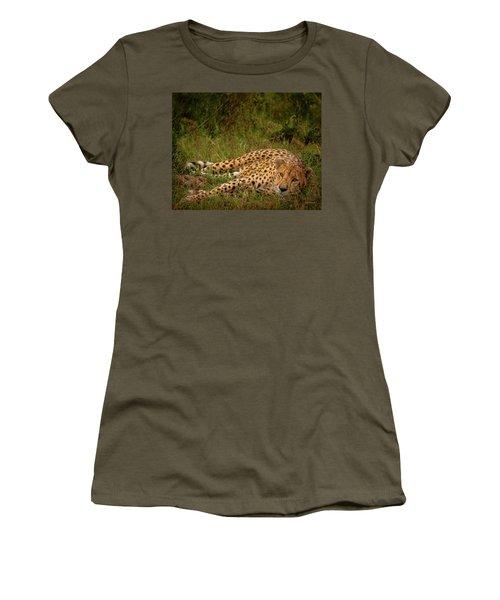 Cheetah Resting, Masai-mara Women's T-Shirt