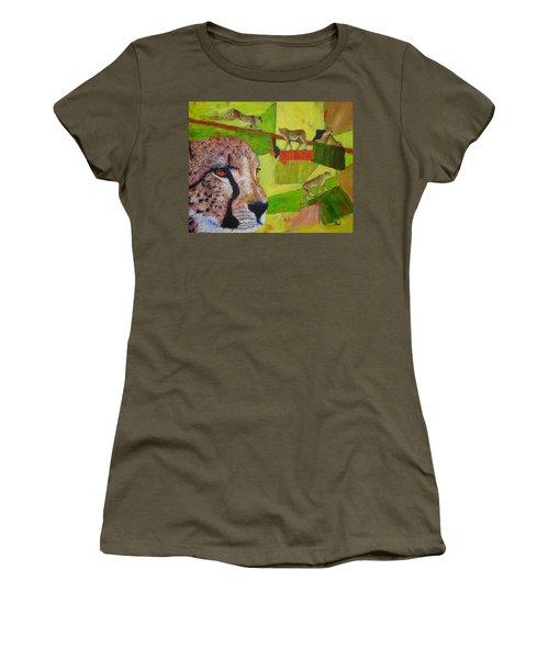 Cheetahs At Play Women's T-Shirt