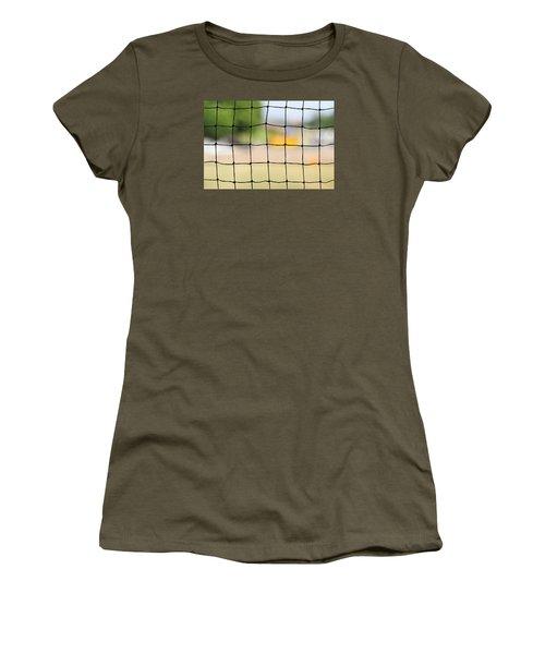 Chequered Present Bleak Future Women's T-Shirt (Junior Cut) by Prakash Ghai