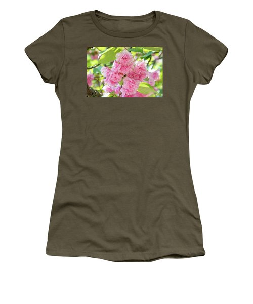 Cherry Blossom Cluster Women's T-Shirt