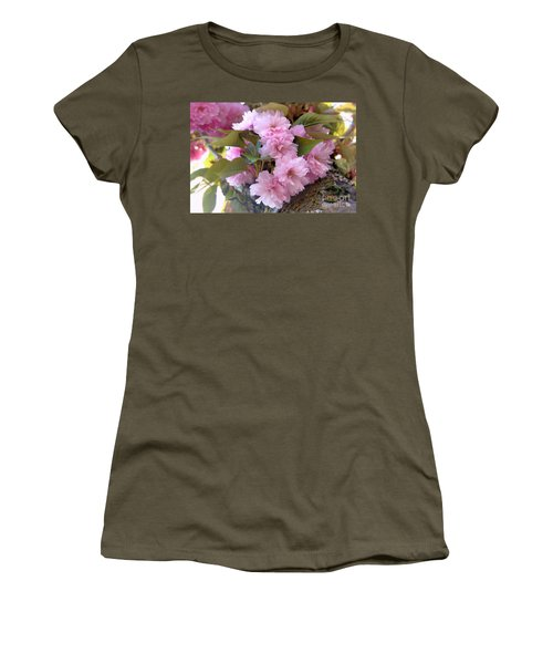 Cherry Blossoms Nbr2 Women's T-Shirt (Athletic Fit)