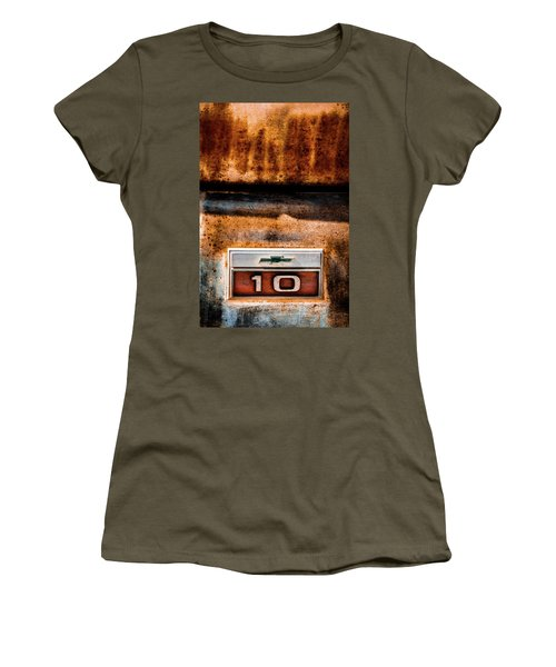 Chevy C10 Rusted Emblem Women's T-Shirt