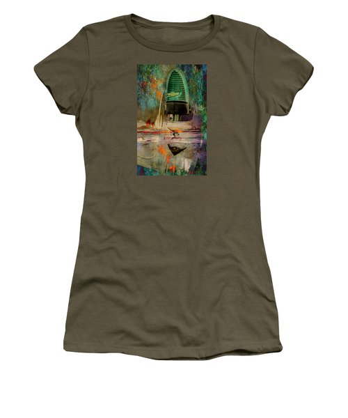 Chevy Tail Women's T-Shirt (Junior Cut) by Greg Sharpe