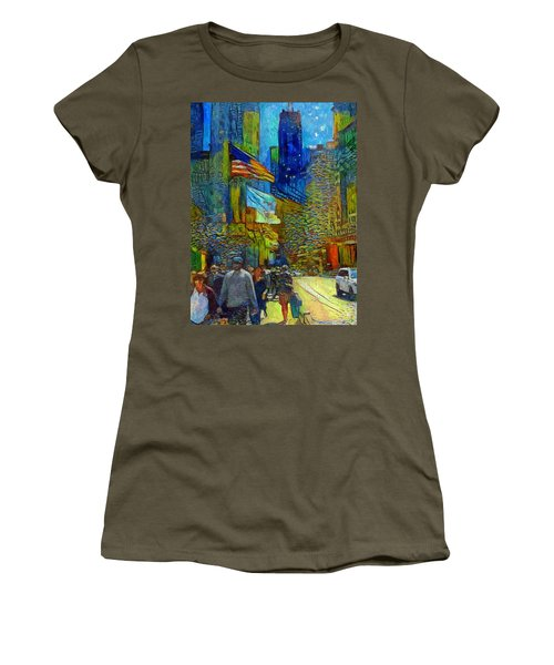 Chicago Colors 2 Women's T-Shirt (Athletic Fit)