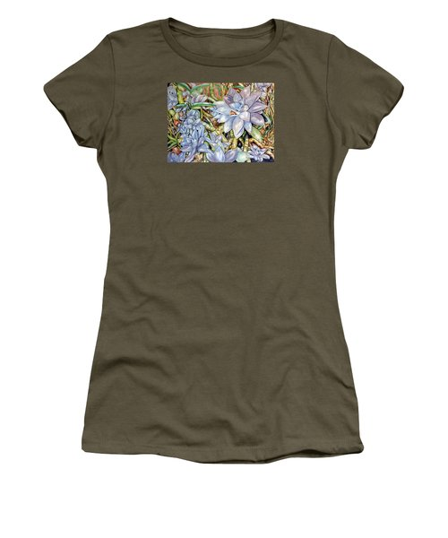 Chicks N Hens In Nature Women's T-Shirt