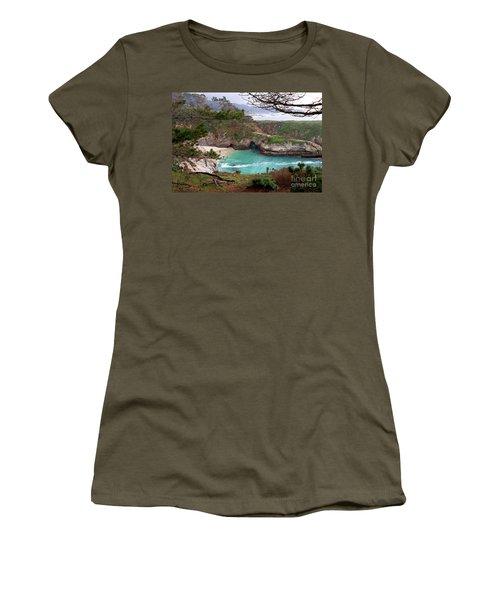 China Cove At Point Lobos Women's T-Shirt