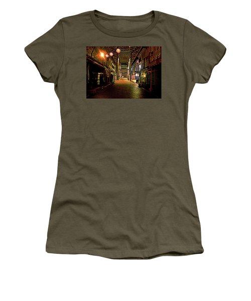 Chinatown At Midnight Women's T-Shirt