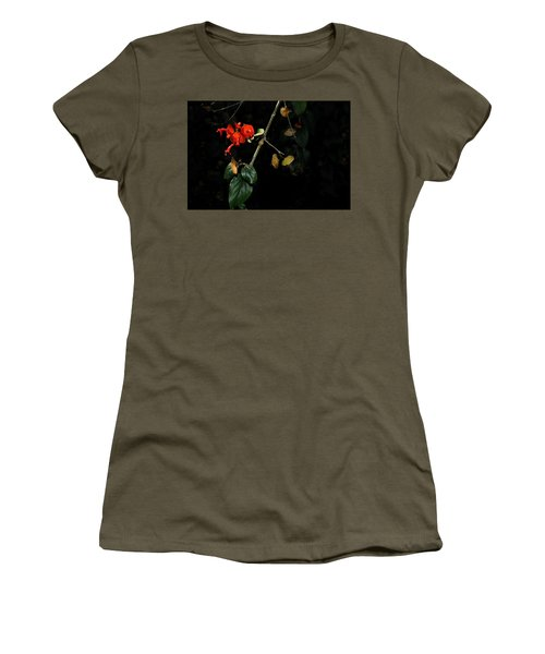 Chinese Hat Plant Women's T-Shirt (Athletic Fit)