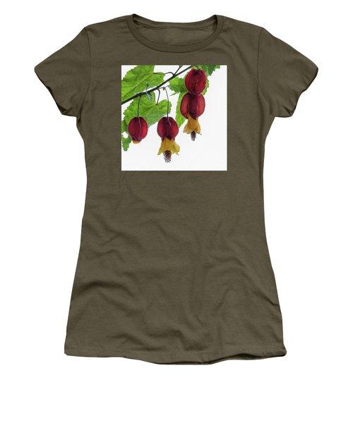 Chinese Lantern 4 Women's T-Shirt (Junior Cut) by Shirley Mitchell