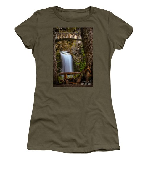 Christine Falls Women's T-Shirt (Athletic Fit)