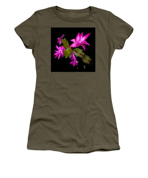 Christmas Cactus Women's T-Shirt