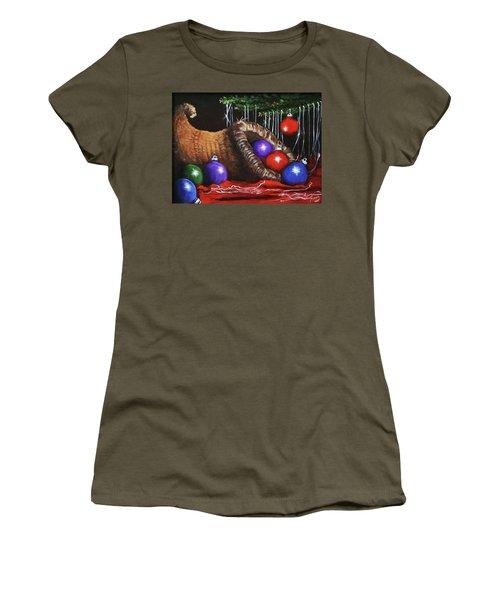 Christmas Colors Women's T-Shirt (Athletic Fit)