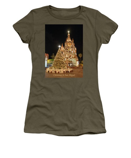Christmas In San Miguel Women's T-Shirt