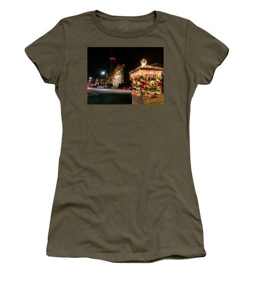 Christmas On Main Street Easthampton Women's T-Shirt