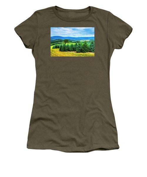 Christmas Spirit Women's T-Shirt (Junior Cut) by Dale R Carlson