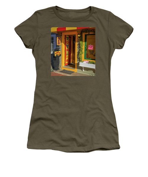 Christmas Toys In The Attic Women's T-Shirt