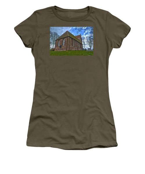 Church On The Mound Of Oostum Women's T-Shirt