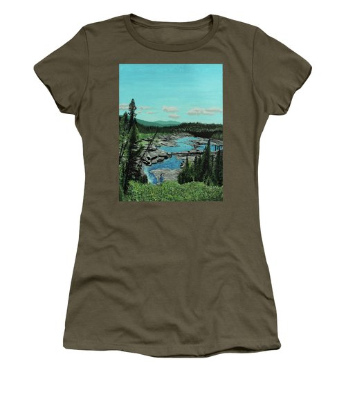 Churchill River Women's T-Shirt (Athletic Fit)