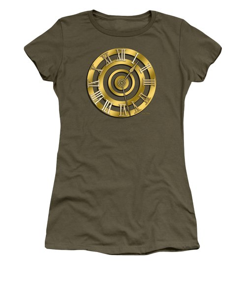 Circular Clock Design Women's T-Shirt