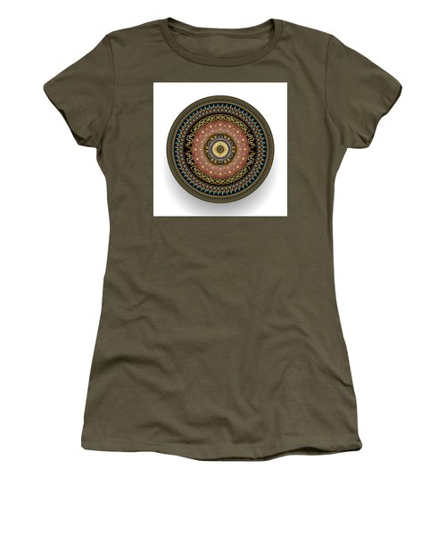 Circularium No 2645 Women's T-Shirt (Junior Cut) by Alan Bennington