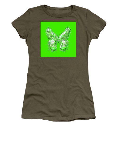 Citrusflybutterfly Women's T-Shirt (Athletic Fit)