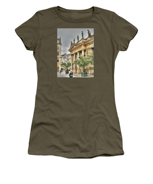 Karlovy Vary Chehia Women's T-Shirt (Junior Cut) by Yury Bashkin