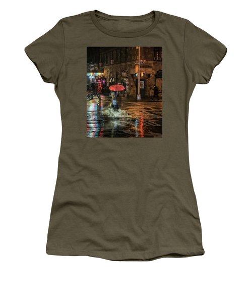City Colors Women's T-Shirt (Junior Cut) by Jeffrey Friedkin