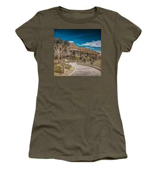 Newport Beach California City Hall Women's T-Shirt (Junior Cut) by TC Morgan