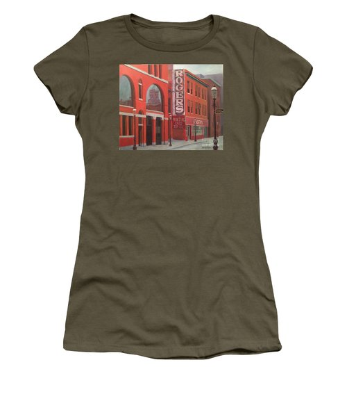 City Hall Reflection Women's T-Shirt (Athletic Fit)