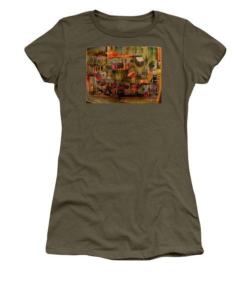 Evening Out Women's T-Shirt (Junior Cut) by Nancy Kane Chapman