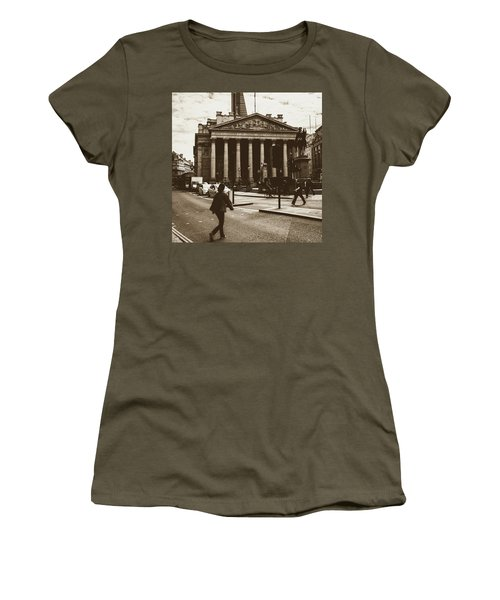 Women's T-Shirt featuring the photograph City Life On London Streets by Jacek Wojnarowski