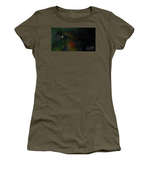 City Rain Women's T-Shirt (Athletic Fit)