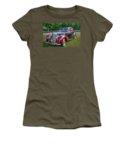 Classic Bentley In Red Women's T-Shirt