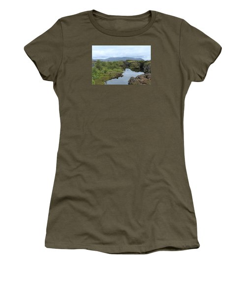 Clear Water Women's T-Shirt (Athletic Fit)
