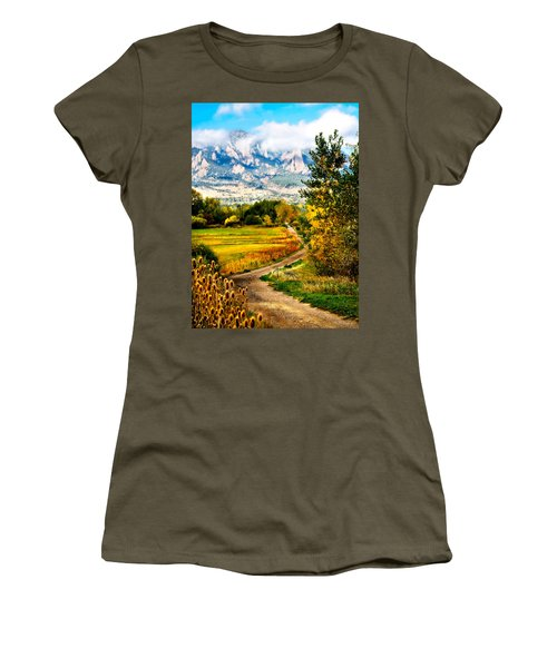 Clearly Colorado Women's T-Shirt (Junior Cut) by Marilyn Hunt