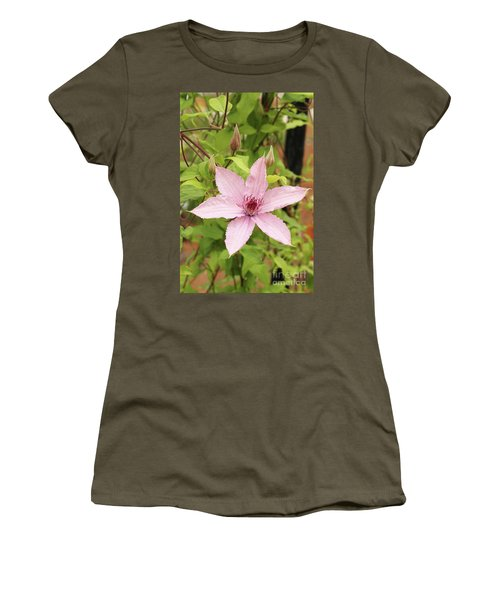 Clematis Hagley Hybrid #2 Women's T-Shirt (Athletic Fit)