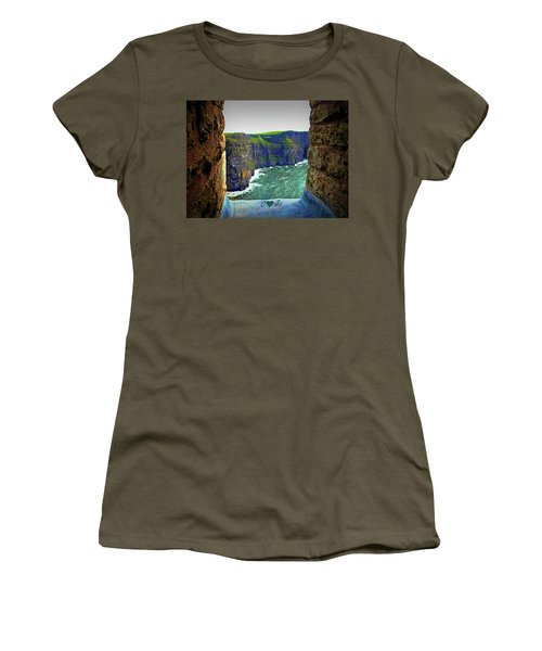Cliffs Personalized Women's T-Shirt (Athletic Fit)