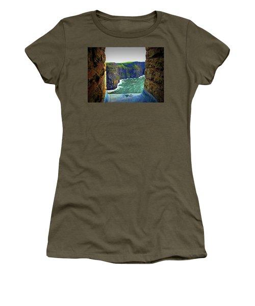 Cliffs Personalized Women's T-Shirt (Athletic Fit)