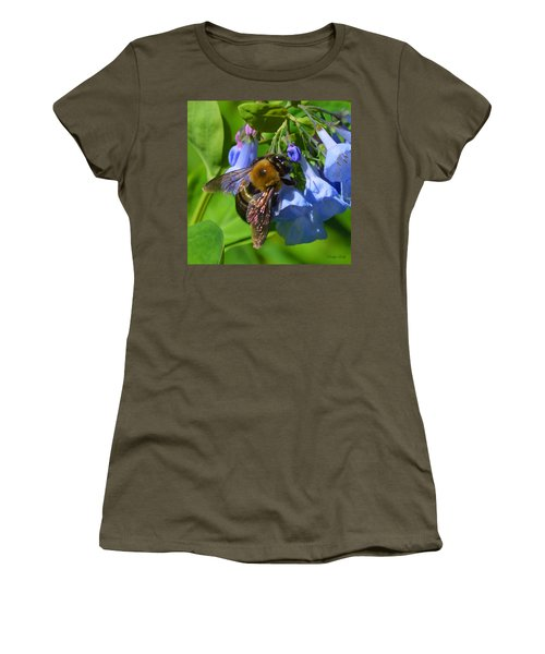 Cling On Women's T-Shirt (Junior Cut) by Kathy Kelly