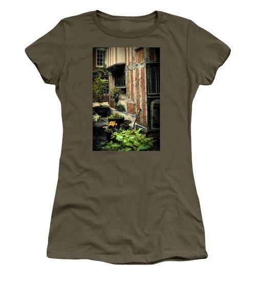 Cloister Garden - Cirencester, England Women's T-Shirt