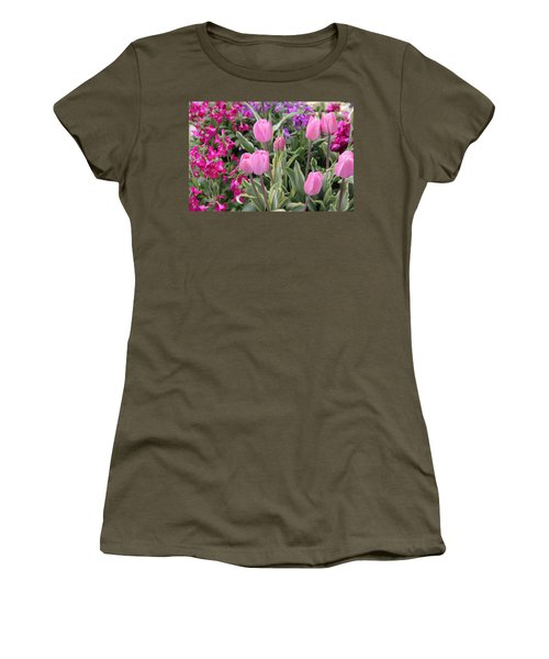 Close Up Mixed Planter Women's T-Shirt