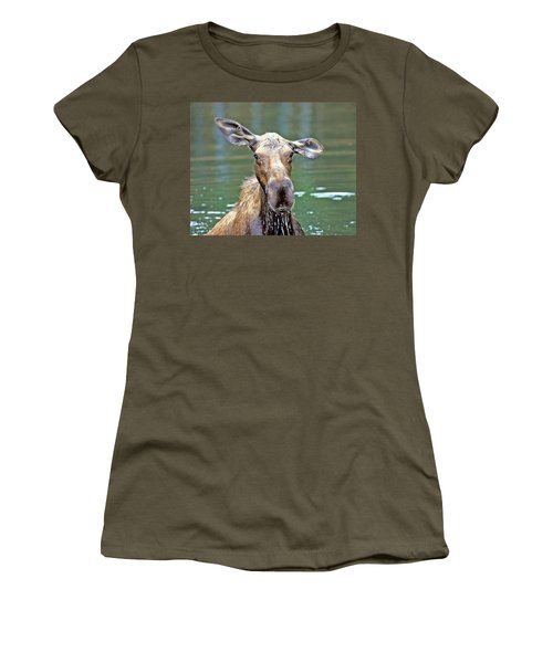 Close Wet Moose Women's T-Shirt
